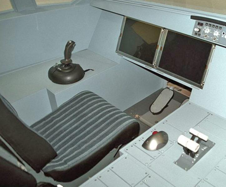 Nachbau eines Cockpits