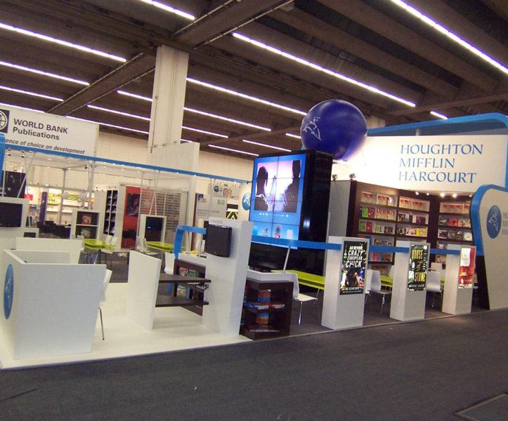 Messestand Buchmesse Frankfurt
