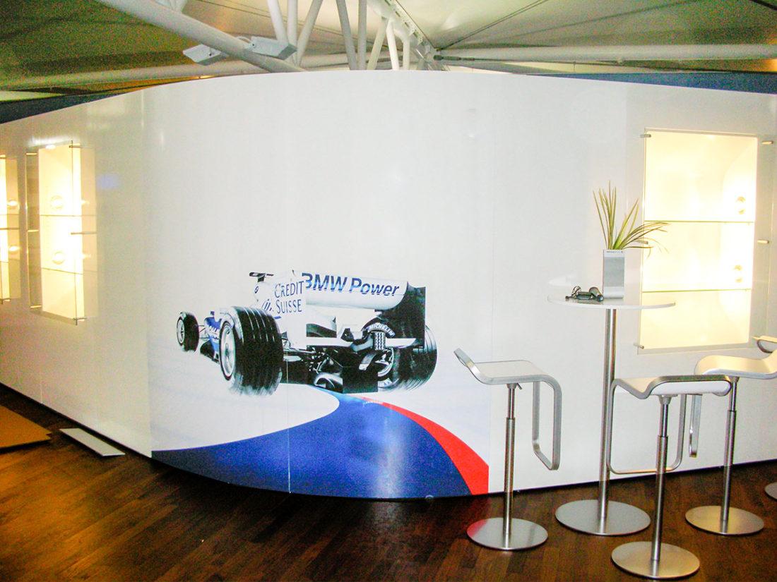 Möbel für Formel 1 paddock clubMöbel für Formel 1 paddock club